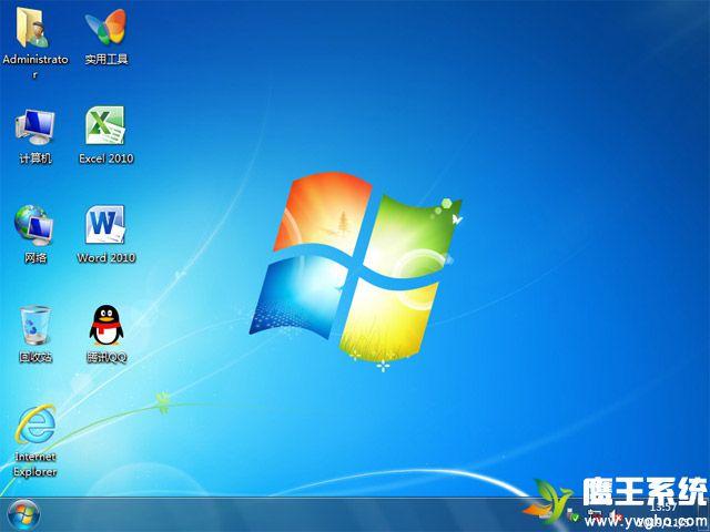 【鹰王技术系统】 Windows 7 旗舰版 32位 (办公版)